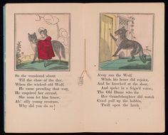 Adventures of Little Red Riding Hood. New York: P.J. Cozans, [between 1861 and 1867?]. Beinecke Library (http://brbl-dl.library.yale.edu/vufind/Record/3953787). CAPERUCITA ROJA