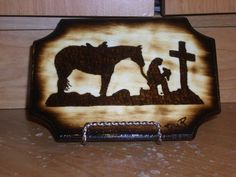 Praying Cowboy...My dad would absolutely love this!