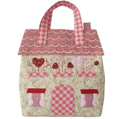 Patchwork handbag - just what ever little girl needs. http://stores.ebay.co.uk/Dolly-Daydream-Boutique