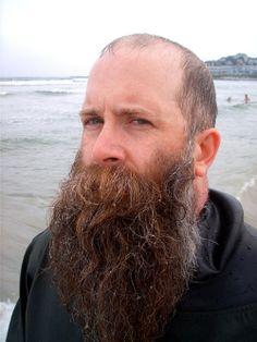 Lost in a good beard... where I wanna be.