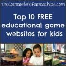 Top 10 free educational game websites for kids   The Cornerstone