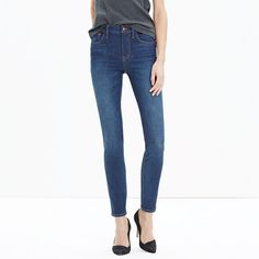 Our favorite supersleek, legs-for-days fit crafted with the very latest in stretch denim.