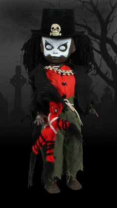 Macumba- With a doll,  He casts his spell.  No one is safe  From this zombie hell.      Placed under a voodoo curse,  It was an evil spell he could not reverse.  A soul trapped behind lifeless eyes,  All things alive are now despised.