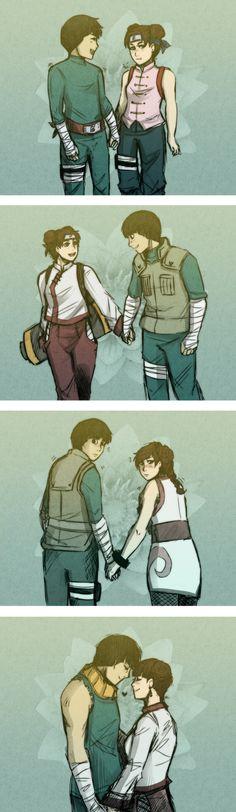 Leeten: Holding hands (Colored ver) by MetaruRicecake