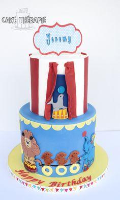 © Mary Das, Cake Thérapie  Circus theme