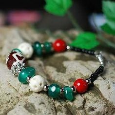These ethnic bracelet jewelries, mainly of Tibetan origin,  are of exquisite, high quality, hand crafted treasures.   Small quantity orders can be accepted.  http://www.flickr.com/photos/jewellery_and_all/collections/