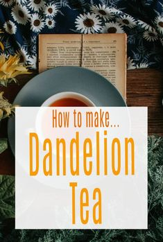 How to make dandelion tea, edible flowers are such a thrifty food option but how about weeds? Dandelions make the best tea and it has so many health and wellbeing benefits and is the perfect detox tea  #dandeliontea #edibleflowers #dandelions #tea Dandelion Tea Benefits, Best Tea, Edible Flowers, Detox Tea, Budget Meals, Health And Wellbeing, Shopping Hacks, Food Hacks, Budgeting