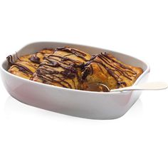 Baileys Chocolate Bread and Butter Pudding