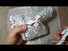 Artesanato RENDA Renascença passo a passo como fazer o acabamento final na peça-DIY - YouTube