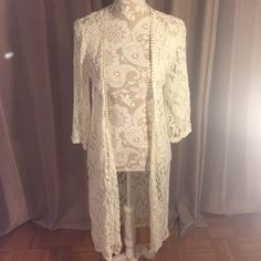 Lace CoverUp Off white full lace cover Mauve Other