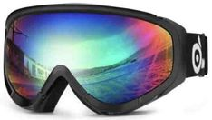Odoland Snow Ski Goggles Double Lens Anti-Fog Windproof Eyewear for Adult and Youth-Skiing, Snowboarding, Motorcycle Cycling and Snowmobile Winter Outdoor Sports Protective Glasses Best Ski Goggles, Snowboard Goggles, Ski And Snowboard, Snowboarding, Best Skis, Snow Skiing, Extreme Weather, Oakley Sunglasses, Eyewear
