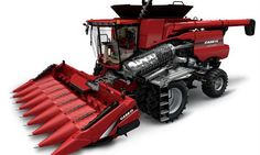 Case IH Corn Heads deliver the highest-quality corn harvesting you can buy. Harvest more acres per day with the new line of Case IH corn heads. Harvest Corn, Case Tractors, Case Ih, International Harvester, Monster Trucks, Farming, Modern, Red, Design