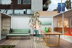 Ilan Dei Venice, a store and gallery operating out of four repurposed shipping containers.