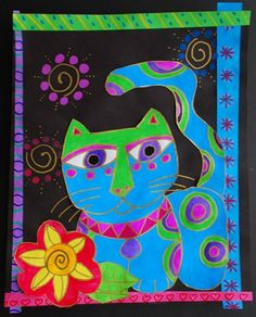 Laurel Burch, I've done lessons with Laurel Burch before and seeing this makes…