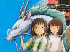 Spirited Away!!  Great director, Hayao Miyazaki...my fav movie of all time