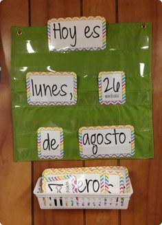 Calendar from La Señorita Creativa