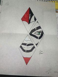 Harley Quinn tattoo idea