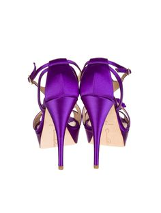 their purple so of course I likey! Purple Love, All Things Purple, Shades Of Purple, Pink Purple, Cute Shoes, Me Too Shoes, Purple Wedding Shoes, Wedding Girl, Stylish Outfits