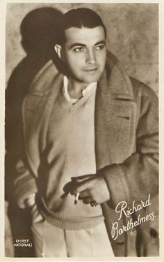 Birthday of the Week: Richard Barthelmess http://www.mildredsfatburgers.com/1/post/2014/05/birthday-of-the-week-richard-barthelmess.html