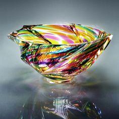 堀口切子(Horiguchi Kiriko)#kiriko #japan #design #colorful #glass