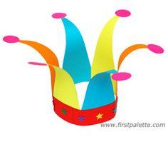 Jolly Jester Hat | AllFreeKidsCrafts.com