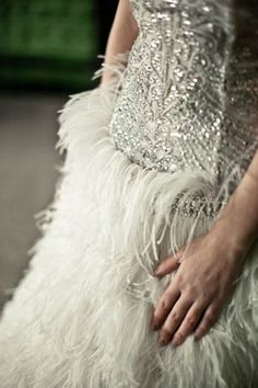 vintage wedding dress 1920s - 1920s wedding feathers and flappers.jpg