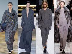 Le gris, couleur tendance pour l'automne-hiver 2014-2015 - Le colorama de la Fashion Week - L'EXPRESS