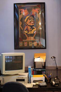 His Desk Seinfeld, 90s Things, Monitor, Flat Screen