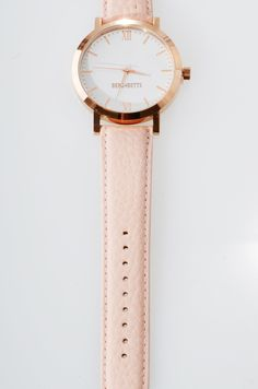 Leather Scraps, Pink Leather, Stainless Steel Case, Blush Pink, Campaign, Quartz, Rose Gold, Watches, The Originals