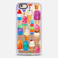 Summer Ice Creams - New Standard Case in Lavender Violet by @micklyn | @casetify
