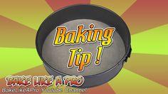 Baking Tip ! - How To Cut Parchment Paper For SpringForm Pans