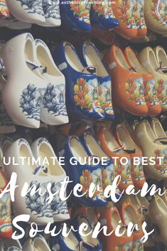 Amsterdam Travel: Best Amsterdam Souvenirs - Where to Find Amsterdam Souvenirs Online & in the City. A list of the best 50+ souvenirs from Amsterdam that you can buy both online and offline. With tips on where to buy Amsterdam souvenirs and gifts from Amsterdam - at the best Amsterdam city markets and stores - and where to buy them online all over the world if you're unable to do some Amsterdam travel, this is the ultimate guide to best Amsterdam souvenirs by a local. #Amsterdam #souvenirs Travel Tips For Europe, Europe On A Budget, Travel Abroad, Travel Ideas, Travel Inspiration, Travel Destinations, Amsterdam Travel Guide, Visit Amsterdam, Amsterdam City