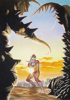 Ultraman - Artwork of Alex Ross
