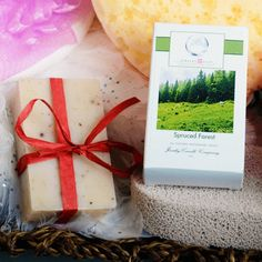 Spruced Forest Jewelry Soaps | Jewelry Candles - Jewelry In Candles  Our Spruce Forest Jewelry Soap is like a foggy spruce forest in the morning dew, this calming scent will awaken your senses and refresh your mind.