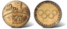 This Official Gold Medal from the 1936 Olympic Winter Games realized $25,850   $9.8M in World and Ancient Coins Realized by Stack's Bowers and Ponterio