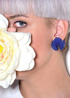 Begonia leather earrings - www.scicche.it
