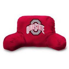 Ohio State Buckeyes NCAA Bedrest Pillow