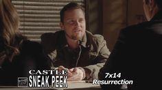 """Castle 7x14 Sneak Peek # 1 """"Resurrection."""" (HQ) Castle Beckett & 3XK  Look Alike?.."""