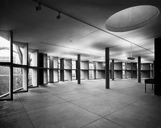The Carpenter Center at Harvard University | 1961 | Cambridge, Massachusetts | Le Corbusier