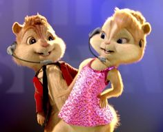 Alvin and Brittany!