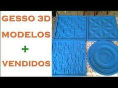 ✅ Como Fazer Molde Para Placa de Gesso Mosaico 3D - Utilizando Pastilhas de Vidro- DIY - YouTube