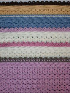 Selje Sommernatt babytepper, 2 størrelser - Hekleguri Design Pdf, Blanket, Crochet, Design, Ganchillo, Blankets, Cover, Crocheting