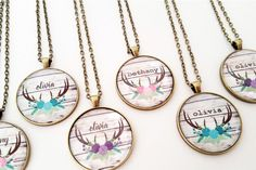Looking for the perfect inspirational gift for yourself or a friend? Check out our handmade personalized pendant necklaces!