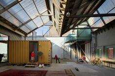Bomastraat, NU-architectuuratelier. Bélgica.