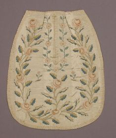 vintage pocket, single, embroidered - Victoria and Albert Museum