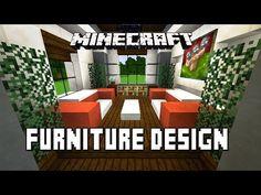 Minecraft Tutorial: Bathroom And Furniture Design Ideas (Modern House Build Ep. 27) - YouTube