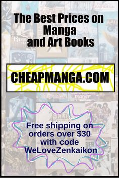 Free shipping on orders over $30 with code WeLoveZenkaikon. Exhibit, Science Fiction, Book Art, Coding, Free Shipping, Manga, Books, Anime, Sci Fi