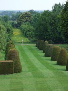 Madingley Hall, Gardens.
