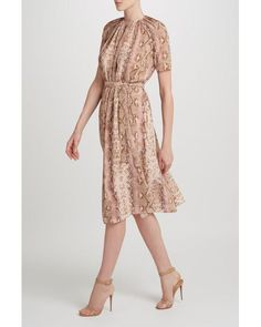 Emilia Wickstead - Pink Isobel Dress - Lyst