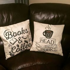 First time here? Use discount code to Save on your first order. *Mindfuel Thinking Exclusive - Not Sold In Stores* Pattern: Printed Material: Lin Sofa Pillows, Throw Pillows, Coffee Reading, Gifts For Bookworms, Reading Pillow, Books For Moms, White Coffee Mugs, Do It Yourself Crafts, Coffee And Books